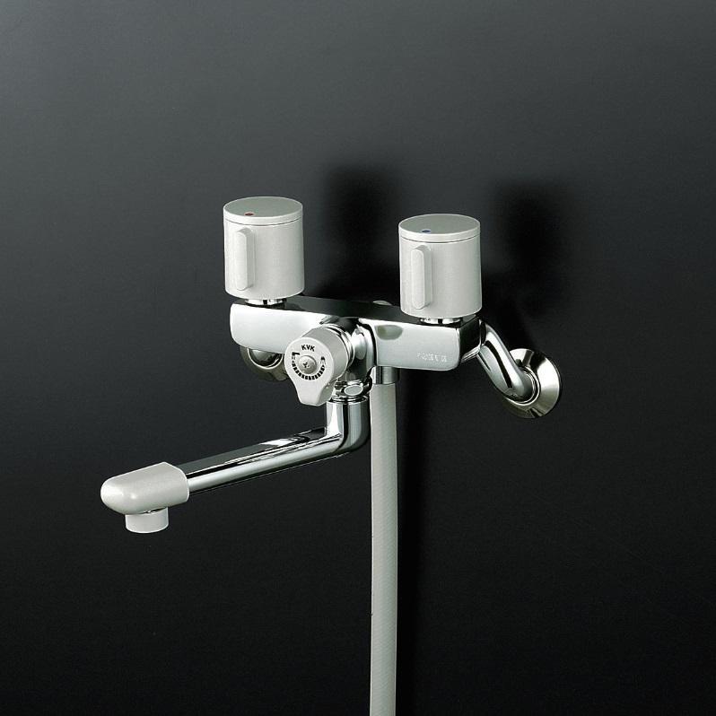 【KF140G3R24】2ハンドルシャワー240mmパイプ付