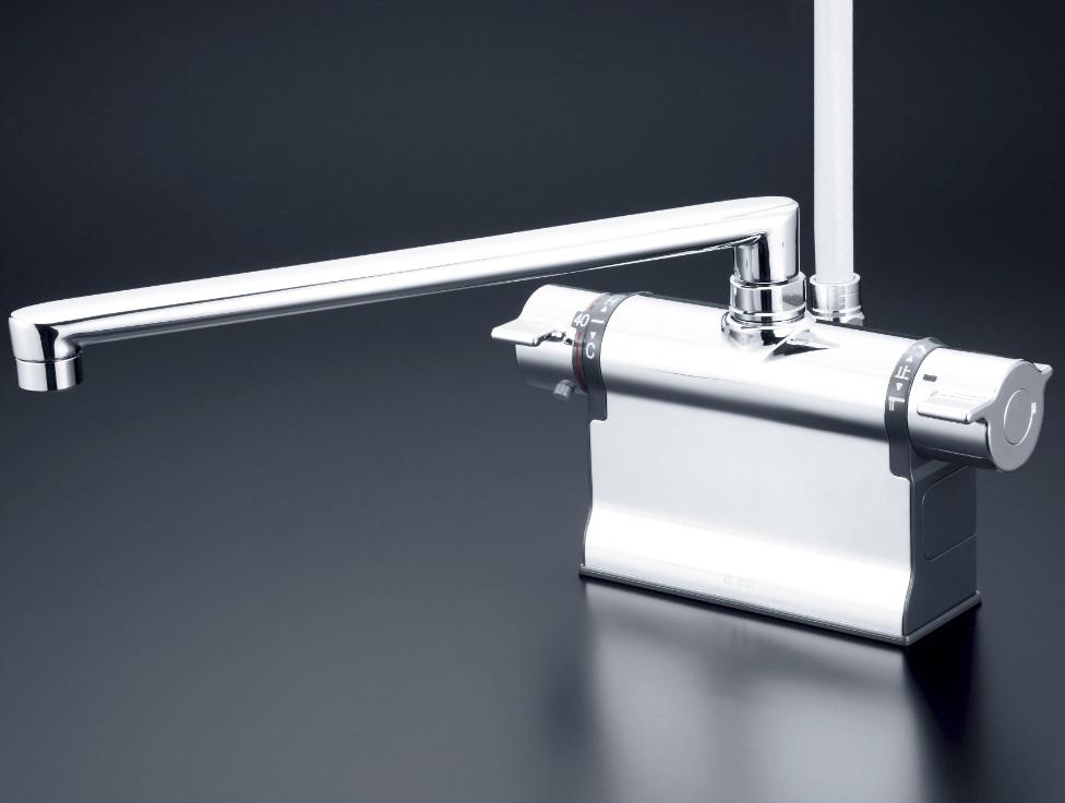 【KF3011ZTR3】デッキ形サーモスタット式シャワー 300mmパイプ付