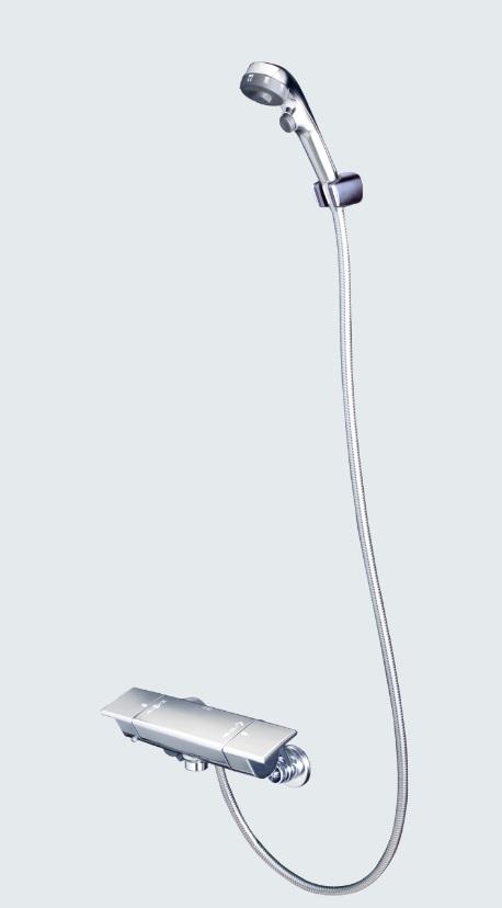 【KF3050ES】サーモスタット式シャワー 3wayシャワーヘッド付
