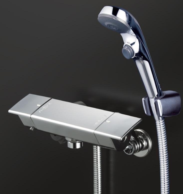 新作人気 【KF3050WS2】サーモスタット式シャワー ワンストップシャワー付:KVK AQUA SHOP-木材・建築資材・設備