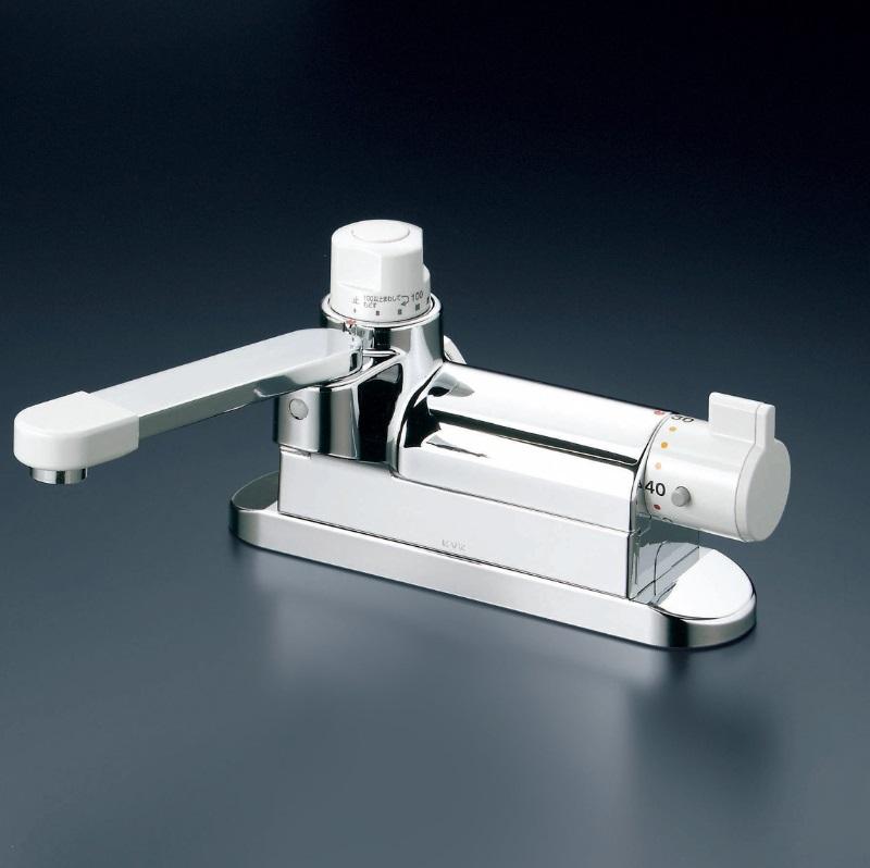 【KM297ZG】埋込形定量止水付サーモスタット式混合栓