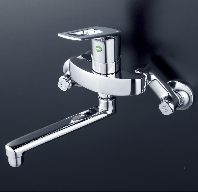 【KM5000WTEC】シングルレバー式混合栓(eレバー)