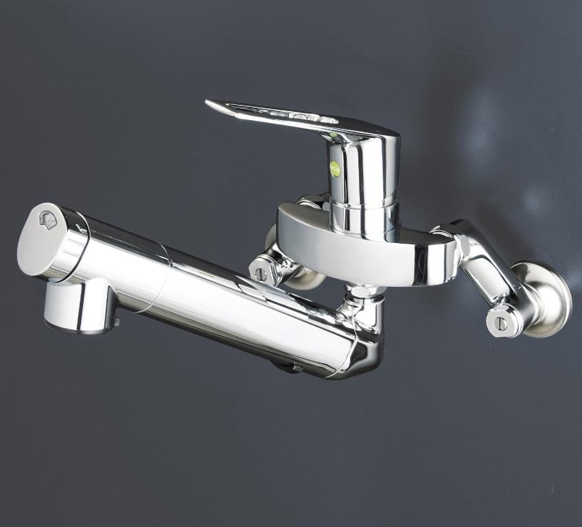【KM5001ZNEC】浄水器内蔵シングルレバー式混合栓