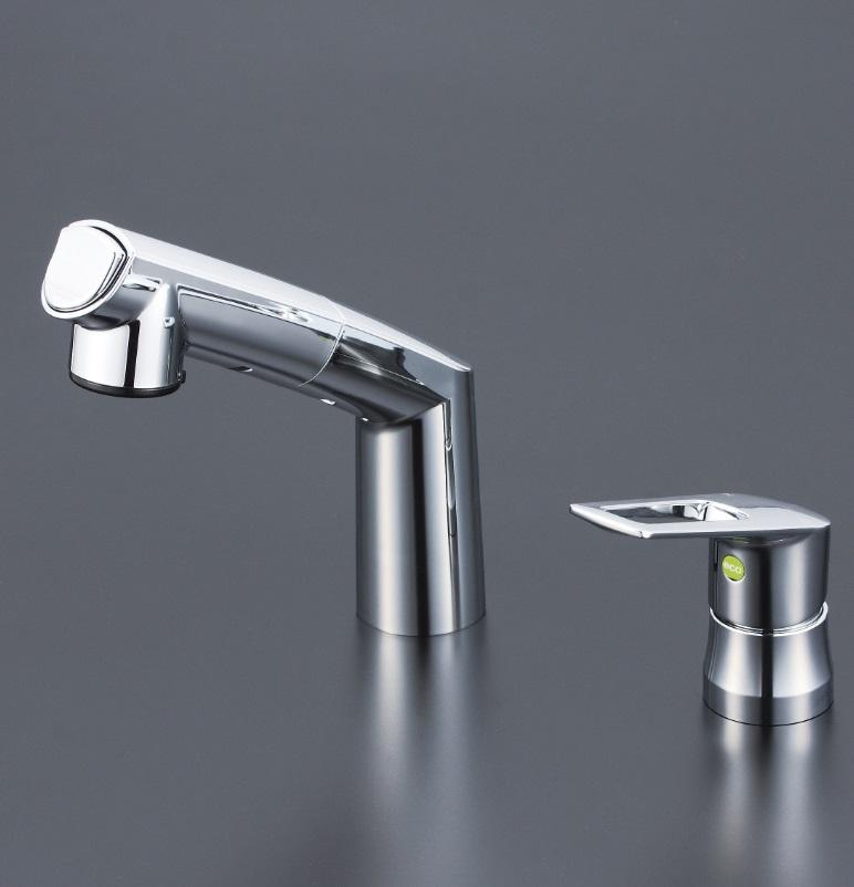 【KM5271ZTEC】洗面用シングルレバー式シャワー(eレバー)