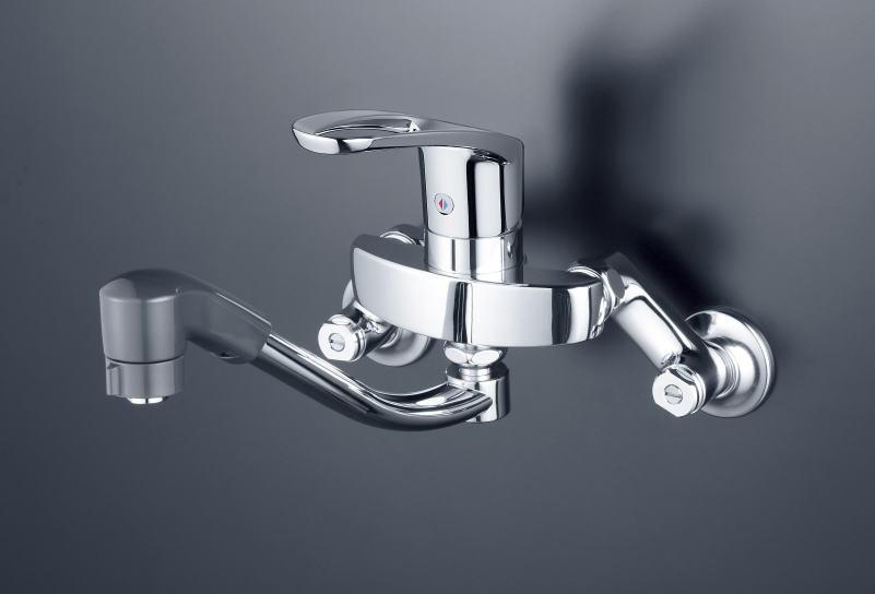 【KM5000TF】シングルレバー式シャワー付混合栓