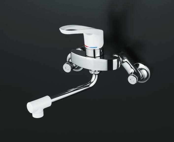 【KM5000Z】シングルレバー式混合栓(壁付) 寒冷地仕様