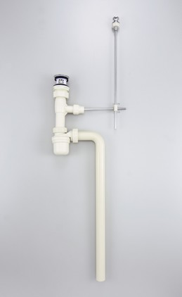 【VR1BJHP】排水栓付ボトルトラップ32/ポップアップ式