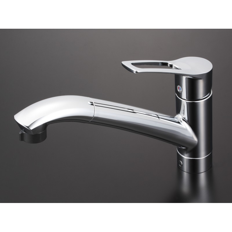 【KM5031JT】流し台用シングルレバー式シャワー付混合栓