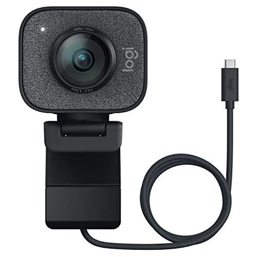 ロジクール ウェブカメラ フルHD 1080P 60FPS ストリーミング ウェブカム AI オートフォーカス 自動露出補正 自動ブレ補正 ストリー