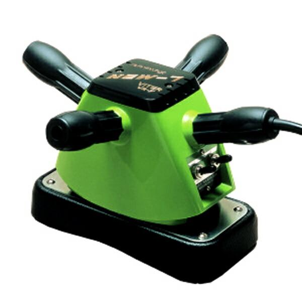 【NEW 高級手持ち式電動マッサージ器】 振動 床屋 マッサージ機 業務用 色:緑
