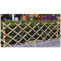 簡単 フェンス 天然竹 竹垣II (支柱用竹付き) 簡単設置 簡易 柵 バリケード 竹フェンス ワンタッチ fence