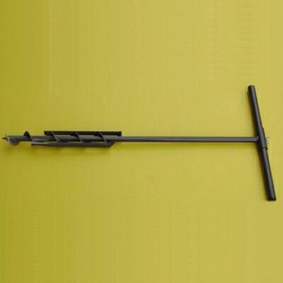 超人気 専門店 地面 畑 田んぼに簡単にパイプや杭を打ち込めます ちっちゃい穴掘り器 直径:45mm ストアー