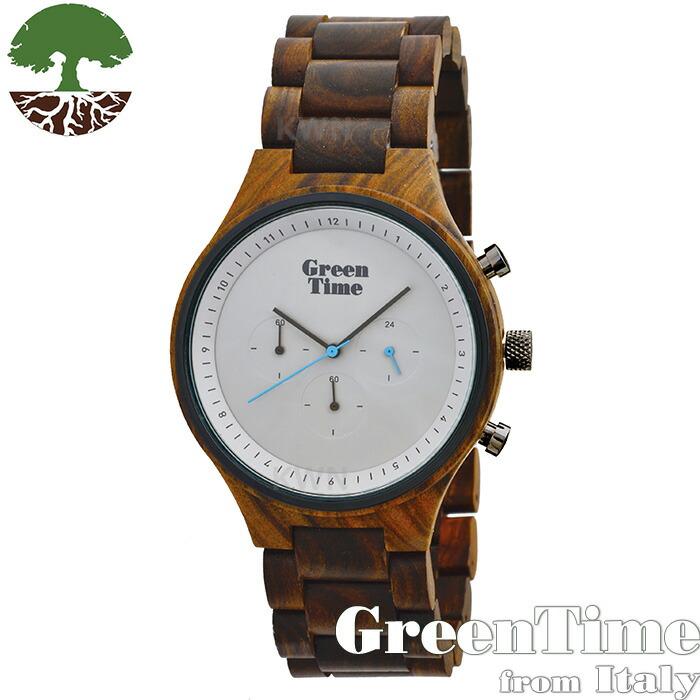 グリーンタイム 【ミニマル ZW063B】 GreenTime ジェンダーフリー 腕時計 木製 【正規輸入品】 Zzero orologi 「FSC認証」
