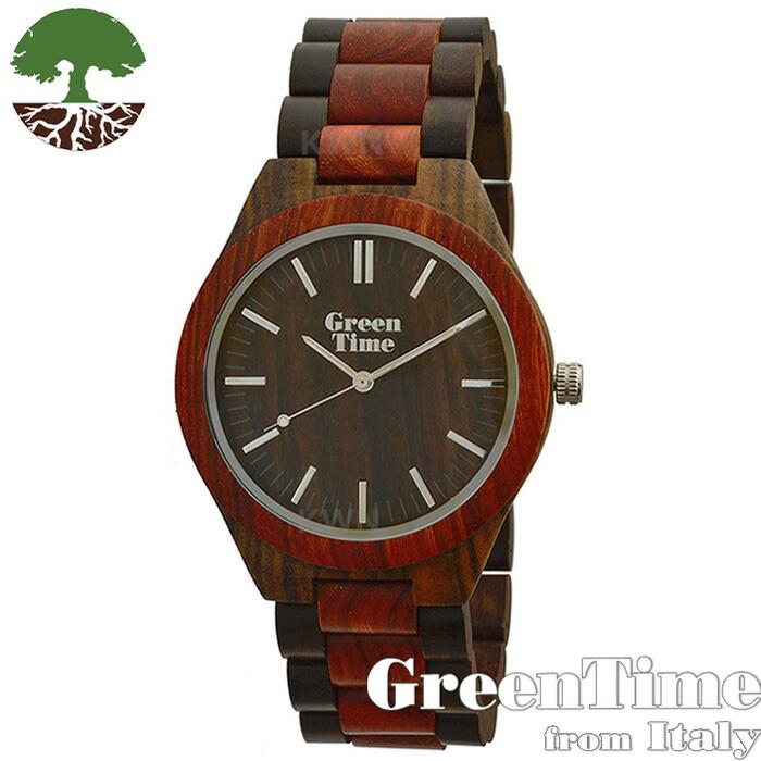 グリーンタイム 【ベーシック ZW021H】 GreenTime ジェンダーフリー 腕時計 木製 【正規輸入品】 Zzero orologi 「FSC認証」