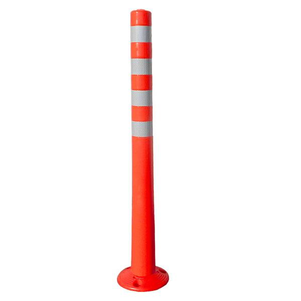 【ソフトコーン 標準タイプ H1000】道路 駐車場 対策 ポール ※代引不可