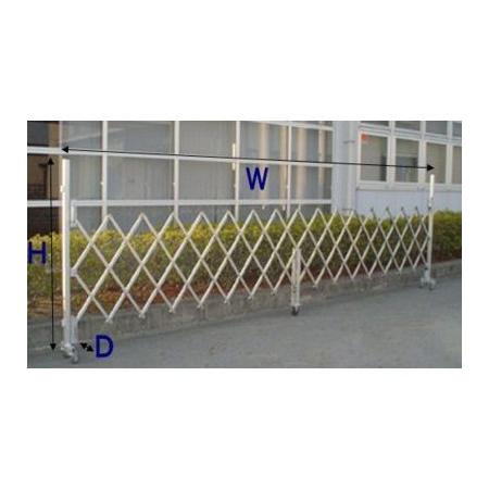 ゲート 【アルミ製 伸縮式門扉】 ※ 代引不可