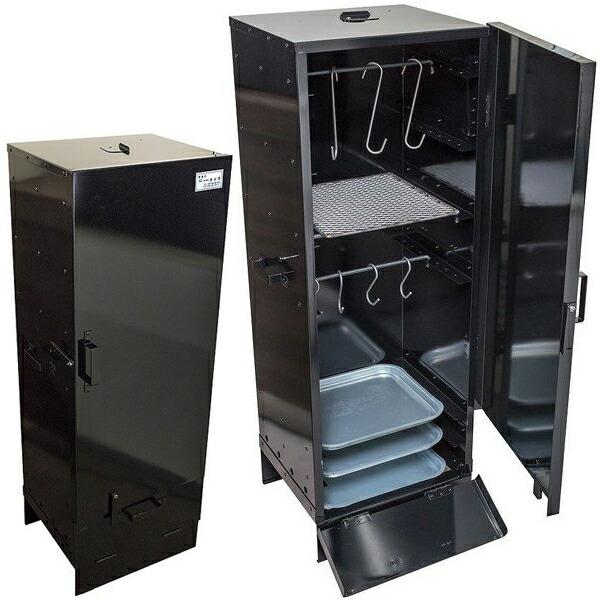 職人手作り 箱型【スモークグリル 高さ116×横41×縦35cm 業務用】燻製器 ※代引不可
