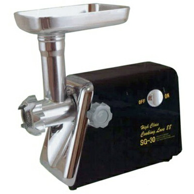 【家庭用電動挽肉機 200W】 ひき肉 魚のすり身 味噌作り 下ごしらえ