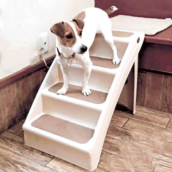 【ペット用ステップ (昇降サポート)】段差 解消 小型犬 ペット 室内
