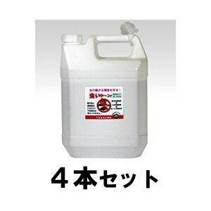 業務用 【虫いやーん! 4L 4本セット】 虫よけ 天然成分 大容量