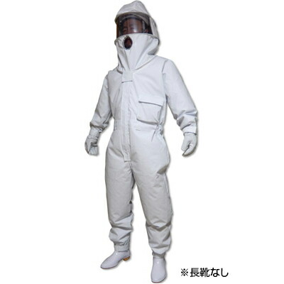 【冷却ファン付 蜂防護服 ホーネット1(手袋付)】ハチの巣 駆除