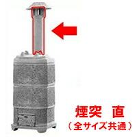 【焼却炉】 家庭用 山水籠部品 【部品 煙突 直】 ※代引不可
