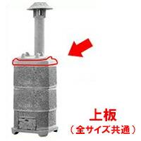 【焼却炉】 家庭用 山水籠部品 部品 上板 ※代引不可