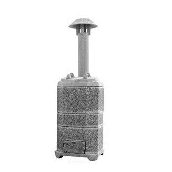【焼却炉】 家庭用 SR205 山水籠 焼却器 ※代引不可