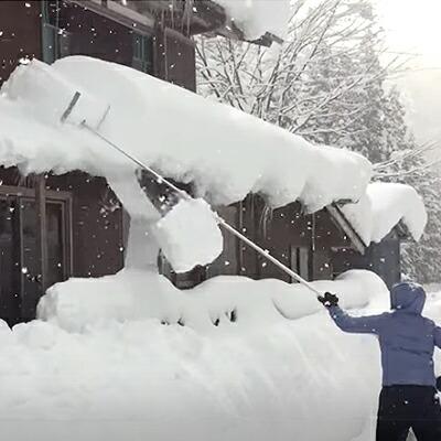 屋根用雪下ろし器【らくらく雪すべーる】雪かき ※代引不可