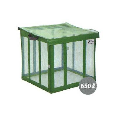 【折りたたみ式 ゴミ枠ステーション 650L】ゴミ捨て場 ボックス
