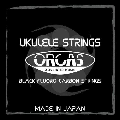 一般的な使用に 送料無料 ORCAS Black Fluoro Carbon Strings OS-MED 贈答品 オルカス ウクレレ 1着でも送料無料 弦 ブラック ウクレレ弦 オルカス弦 フロロカーボン