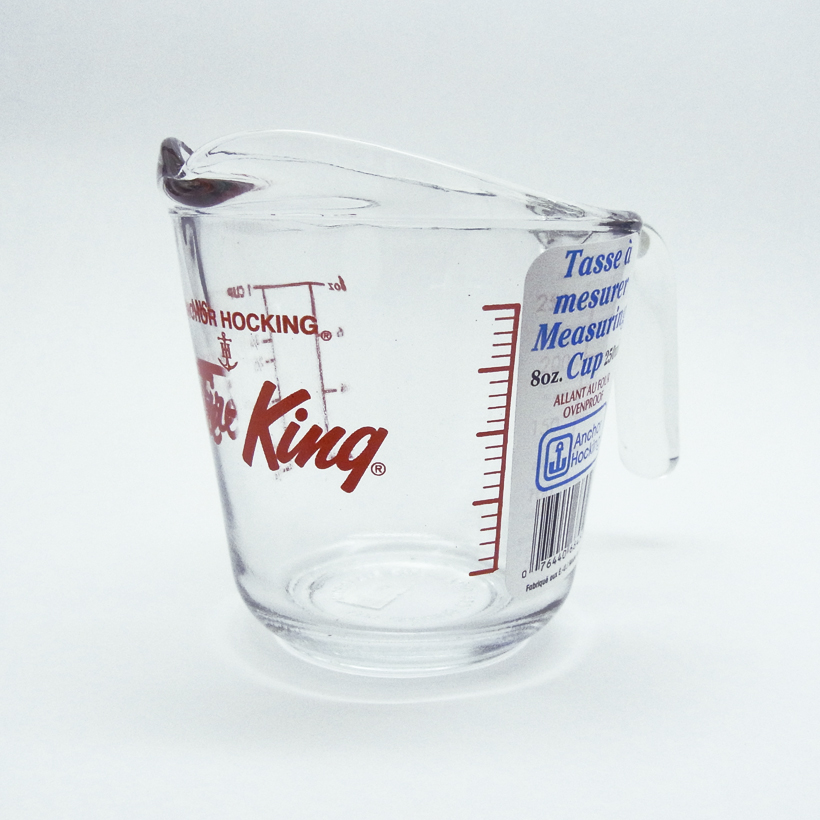 Kitchen World Tdi Anchor Hocking Fire King Measuring Cup