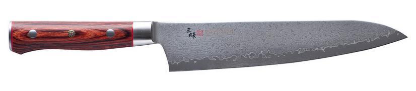 【受注生産品】三昧 ザンマイクラッシックプロ ダマスカス 紅蓮牛刀210mmHFR-8005D