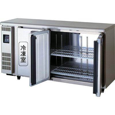 【新品】超薄型奥行450mmタイプFukushima【フクシマ】ヨコ型業務用冷蔵庫幅1500タイプ 冷凍室75L 冷蔵室135LTRU-51PM-Fセンターフリー 内装ステンレス鋼板