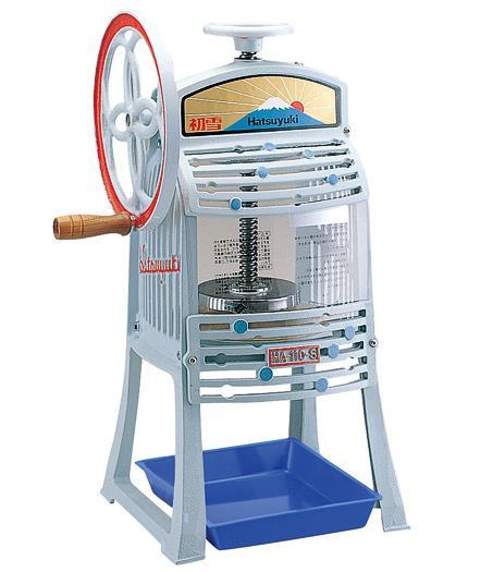 【メーカー直送品】【HATSUYUKI】手動式ブロックアイススライサー かき氷器 HA-110S