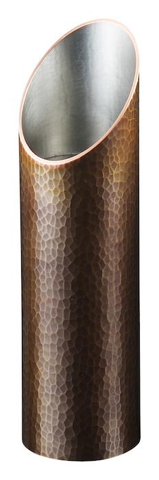 密かな楽しみ・おもてなし・贈答に 銅製 酒筒ストレート 素銅色
