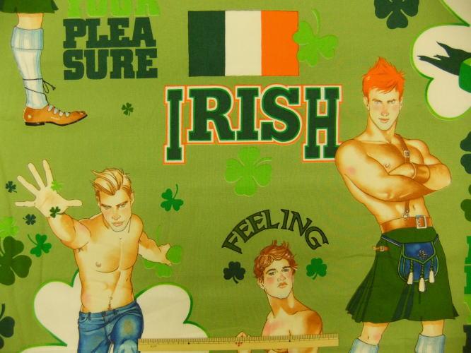 布美国棉花感觉幸运爱尔兰人 7863 亚历山大 · 亨利面料 icemans 商用 10P05Nov16