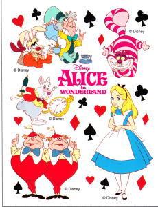 爱丽丝梦游仙境贴纸动漫玩具划痕装饰板直流-3 楼,爱丽丝梦游仙境 》