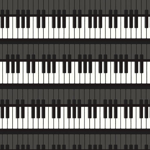kyoto kanariya shugeiten usa cotton fabric cloth piano 8457 12 music in me piano keyboard. Black Bedroom Furniture Sets. Home Design Ideas