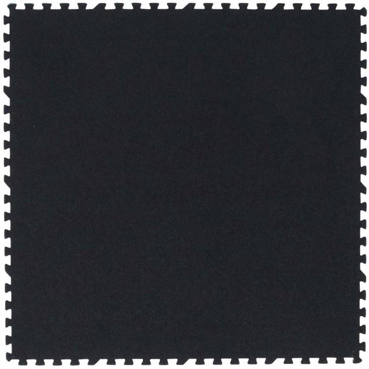 【同色32枚セット(約6畳)】ジョイントマット 60×60cm JM-H6008NPS BR・BK・BE送料無料 カーペット 大判 衝撃吸収 ラグマット 防音 床暖房対応 水洗いOK ブラウン・ブラック・ベージュ【D】