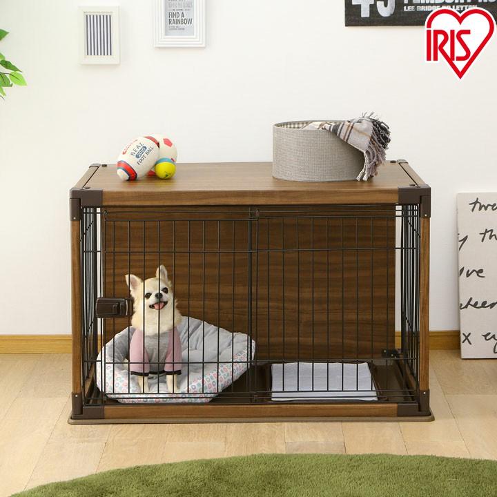インテリアウッディサークル ダークブラウン PIWS-960送料無料 ペット ペットケージ ペットサークル 室内用 柵 ウッディーサークル ケージ ゲージ ウッディ サークル 犬 いぬ 木目 小型犬 簡単組み立て 木目調 アイリスオーヤマ