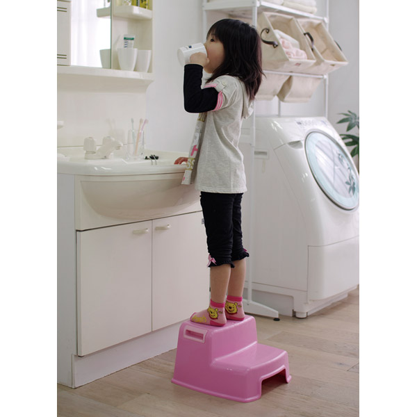 The Step Slipper Processing Sink For The Step Child For The Washroom  Kitchen Help Living Step Child Is Light In The Kids Step KIS 210E Pink Blue  Two ...