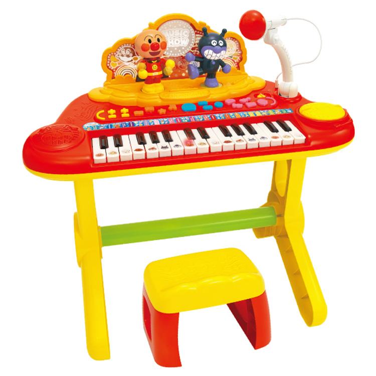 アンパンマン キラピカ いっしょにステージ ミュージックショー 送料無料 あんぱんまん 楽器 キーボード ピアノ 歌う 音楽 おもちゃ クリスマス プレゼント ギフト