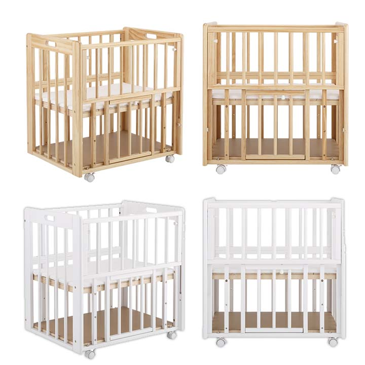The Age That Is Targeted For Crib Katoji Microskirt 2500 2501 Bed Mini Size E Compact Shin Pull Saving Newborn Baby 12 Months Cato
