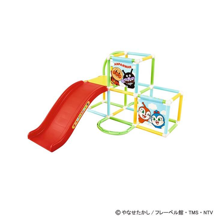 【送料無料】【アンパンマン おもちゃ】【取寄品】 アンパンマン うちの子天才 折りたたみ式ジャングルパーク【知育玩具 ベビー 幼児】アガツマ 【TC】