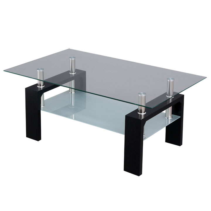 Glass table Center table w living table row table table living room Center  table law table coffee table living room table w Center table Walnut Black  ...