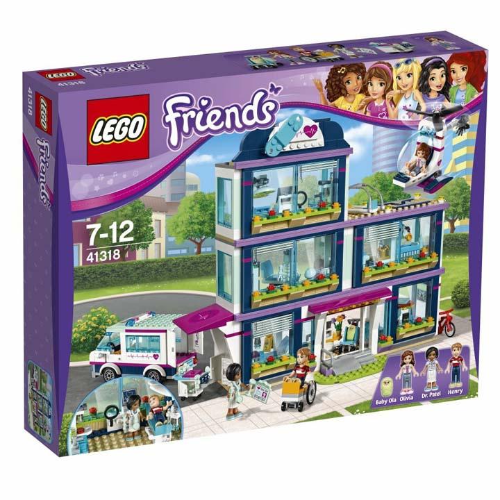レゴ フレンズ ハートレイクシティの病院 41318送料無料 玩具 組立ブロック 遊び LEGO レゴジャパン クリスマス プレゼント ギフト 【TC】