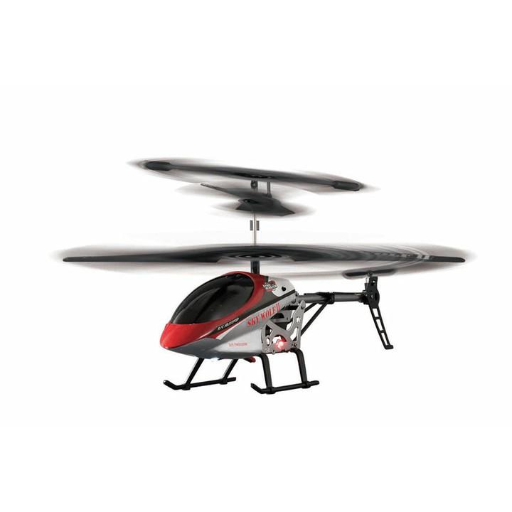 ジャイロマスター 2.4GHZヘリ スカイウルフ2 JHR3019-RD送料無料 ヘリコプター 屋外 ビックサイズ ジャロセンサー搭載 ライト点灯 ジョーゼン 【TC】【★SS10】