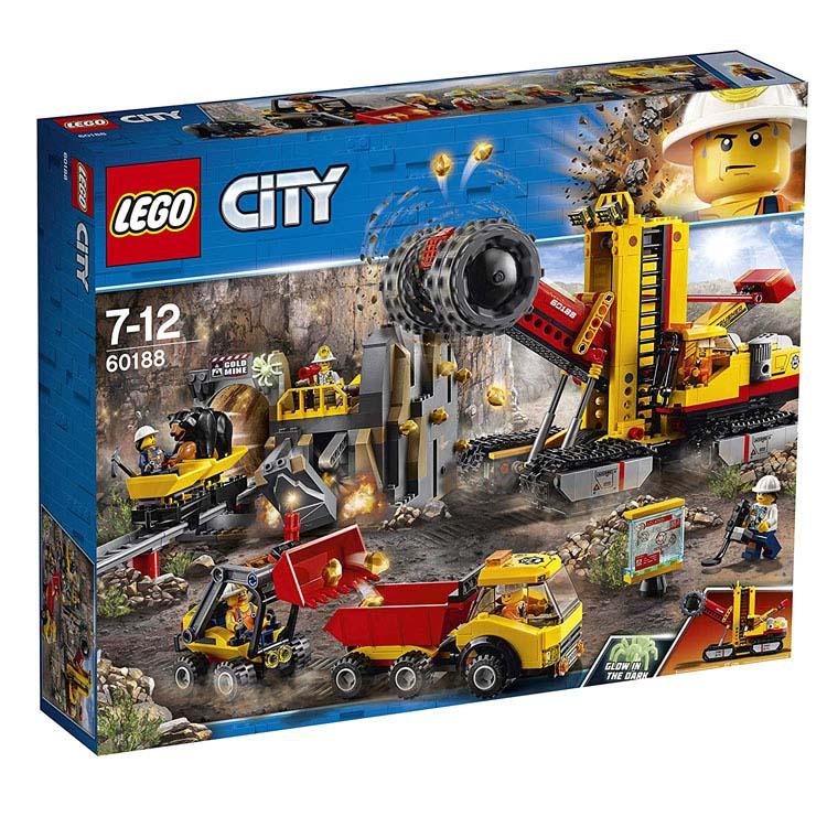 レゴ シティ ゴールドハント 採掘場 60188送料無料 おもちゃ 玩具 ブロック 男の子向け ミニチュア 街 LEGO City ギフト プレゼント レゴジャパン 【TC】