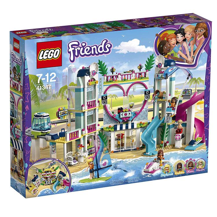 レゴ フレンズ 41347 ハートレイクシティ リゾート 送料無料 おもちゃ 玩具 LEGO ブロック 女の子向け ホテル ギフト プレゼント レゴジャパン 【D】【★SA10】